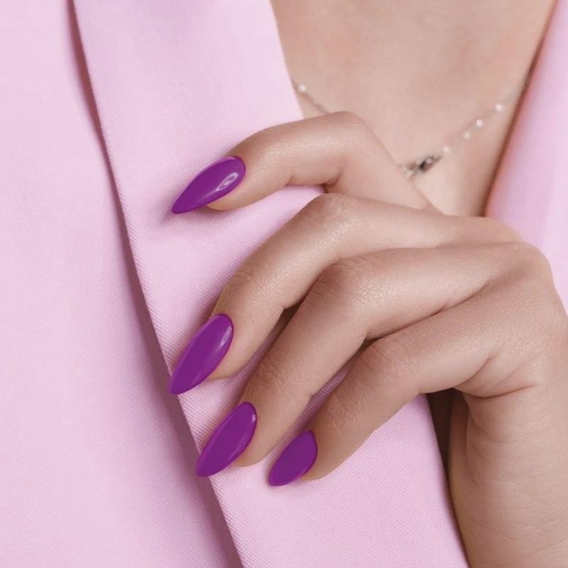 indigo nails moradas