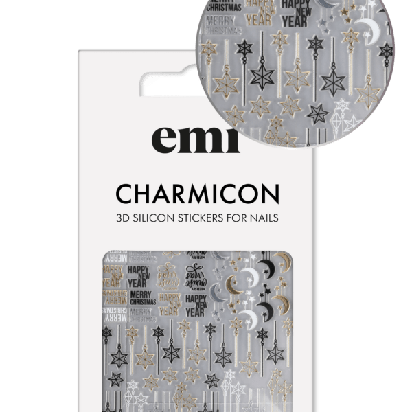 Charmicon 3D Silicone Stickers #199 Christmas Night
