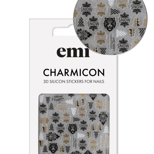 Charmicon 3D Silicone Stickers #201 Tiger