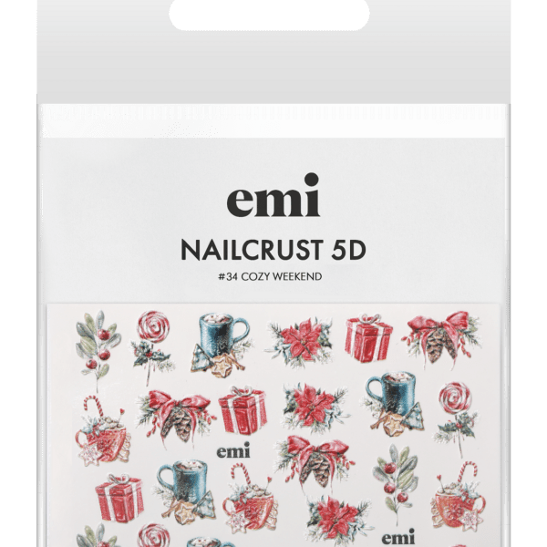 NAILCRUST 5D #34 Сozy Weekend